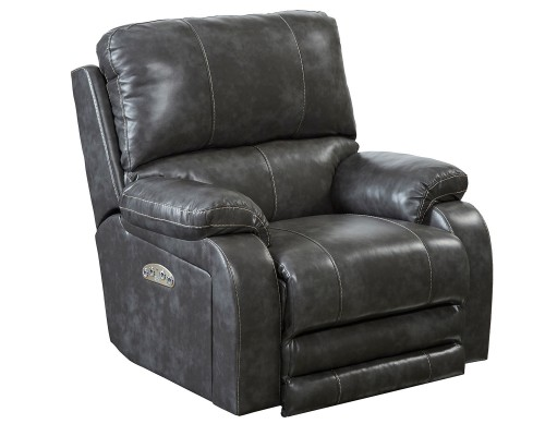 Thornton Power Headrest Power Recliner Chair - Steel