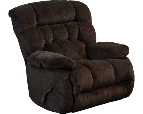 Daly Power Lay Flat Recliner - Chocolate