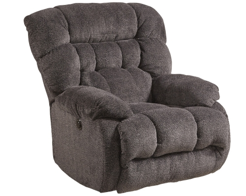 Daly Power Lay Flat Recliner - Cobblestone