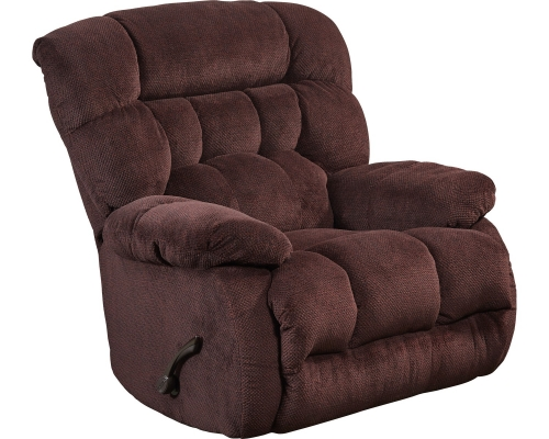 Daly Power Lay Flat Recliner - Cranapple