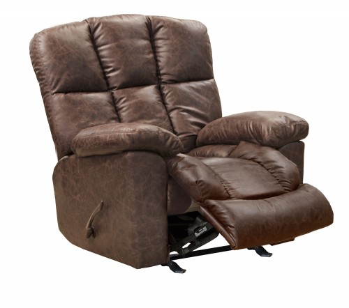 Mayfield Glider Recliner Chair - Saddle