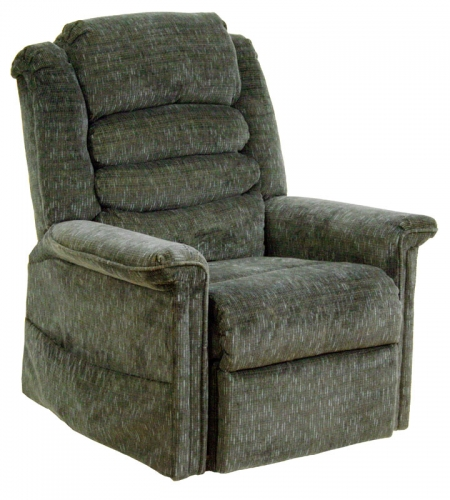 Soother Power Lift Full Lay-Out Chaise Recliner with Heat and Massage - Woodland