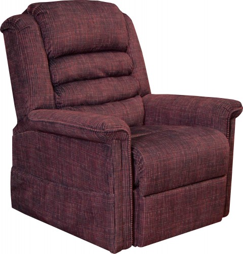 Soother Power Lift Recliner Chair - Wine