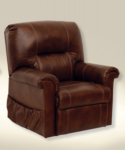 Vintage Leather Power Lift Chair - Tobacco