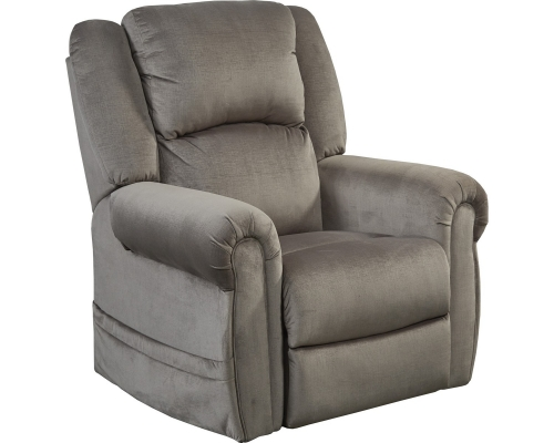 Spencer Power Headrest Power Lift Recliner - Pewter