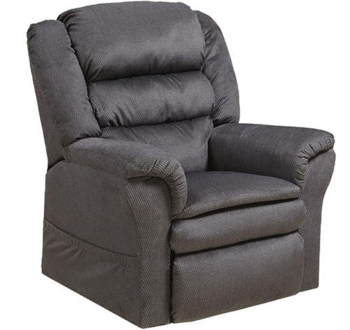 Preston Power Lift Recliner with Pillowtop Seat - Smoke