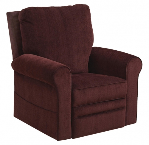 Edwards Power Lift Recliner - Plum