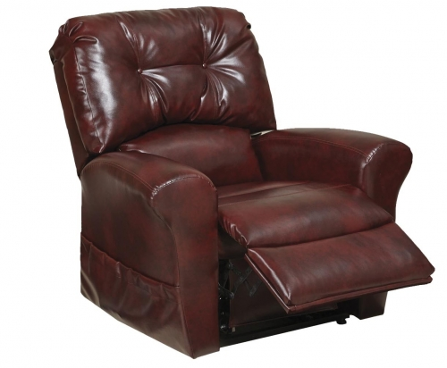 Landon Power Lift Lay Flat Recliner - Bourbon