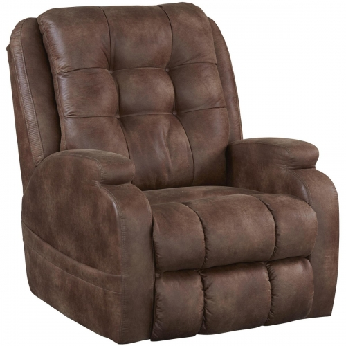 Jenson Power Lift Lay Flat Recliner with Dual Motor - Almond