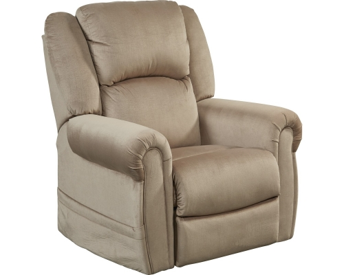 Spencer Power Headrest Power Lift Recliner - Coffee