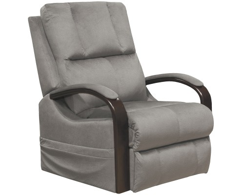 Chandler Power Lift Recliner Chair - Aluminum