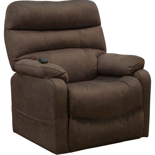 Buckley Power Lift Recliner Chair - Chocolate