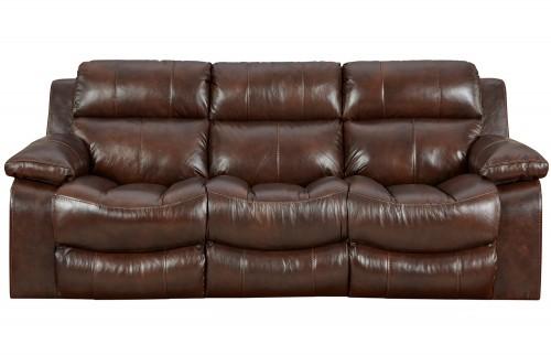 Positano Reclining Sofa - Cocoa