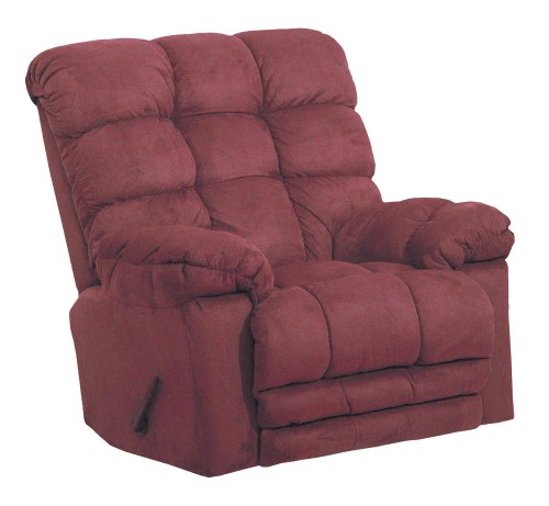 Magnum Rocker Recliner Chair - Merlot