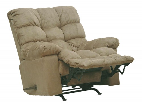 Magnum Rocker Recliner Chair - Saddle