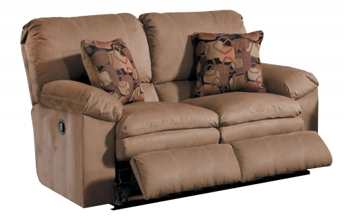 Impulse Power Reclining Loveseat - Cafe