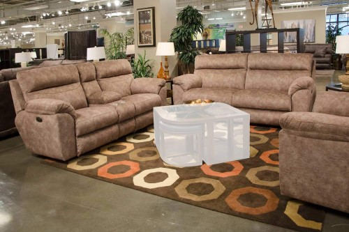 Sedona Power Reclining Sofa Set - Mesa