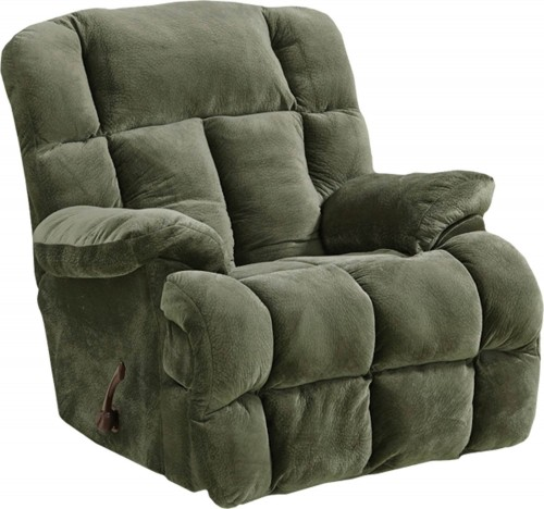 Cloud 12 Chaise Rocker Recliner Chair - Sage