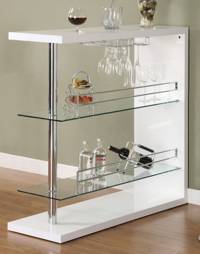 100167 Bar Table - White
