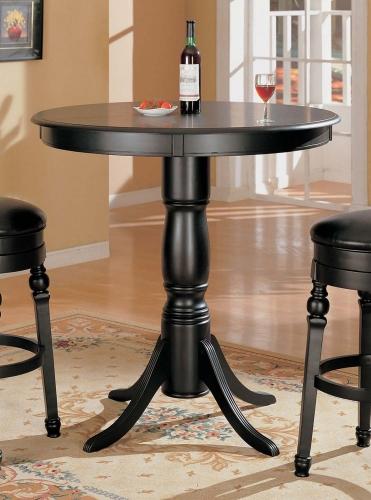 100278 Bar Table - Black