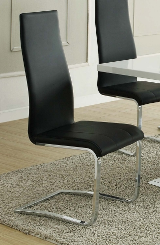Coaster Mix & Match Dining Chair - Black