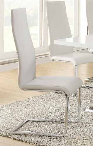 Coaster Mix & Match Dining Chair - White