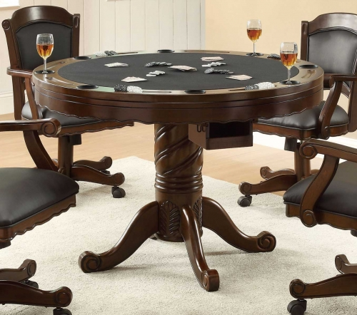 Turk 3-in-One Game Table - Cherry