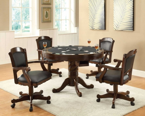 Turk 3-in-One Game Table Set - Cherry
