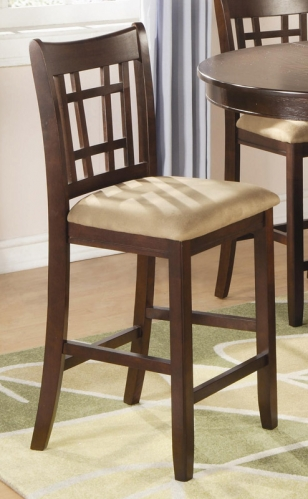 Lavon 24 Inch Counter Stool - Cherry