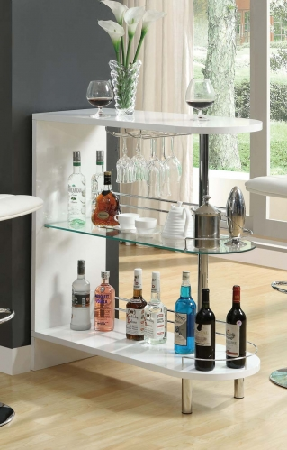 101064 Bar Table - White
