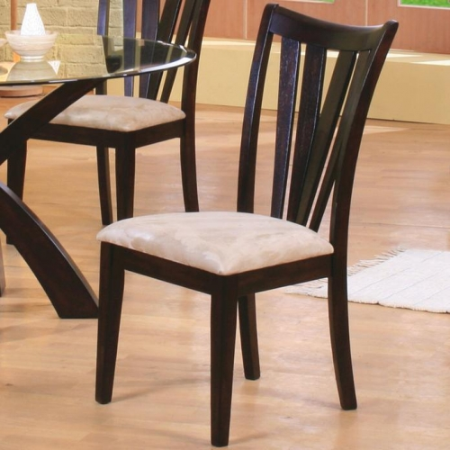 Shoemaker Contemporary Vertical Slat Chair