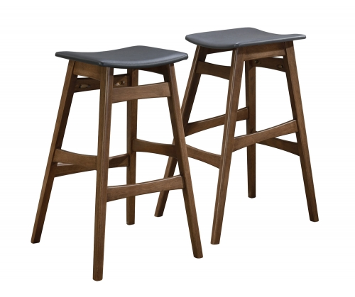 101437 Bar Stool - Walnut