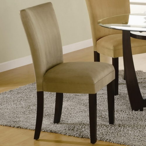 Bloomfield Taupe Parson Chair