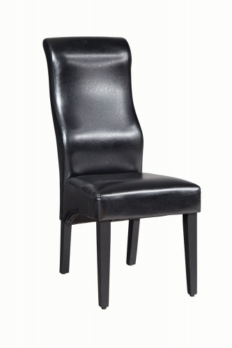 Augustin Side Chair - Black