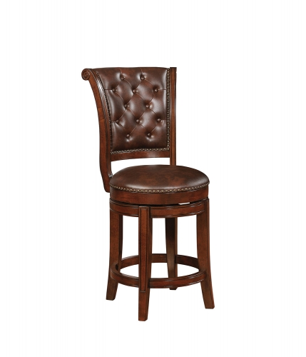102935 Bar Stool - Warm Brown