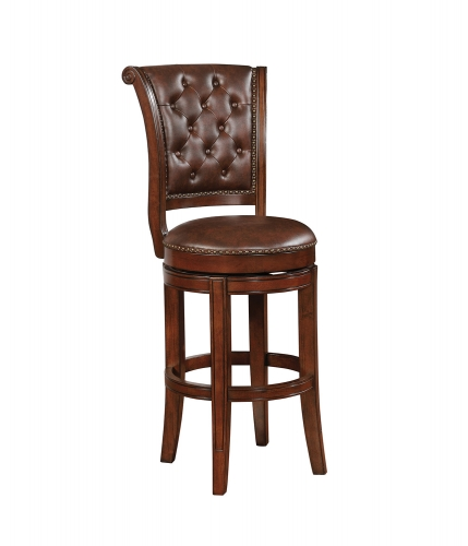 102936 Bar Stool - Warm Brown