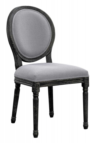 Dayton Side Chair - Antique Black/Grey