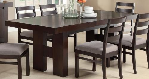 Dabny Dining Table - Cappuccino