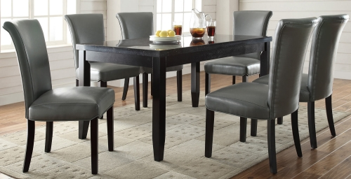 Newbridge Dining Set - Metal Color Chair