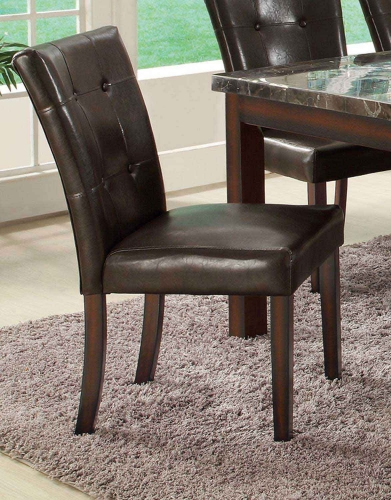 Milton Brown Side Chair - Cappuccino