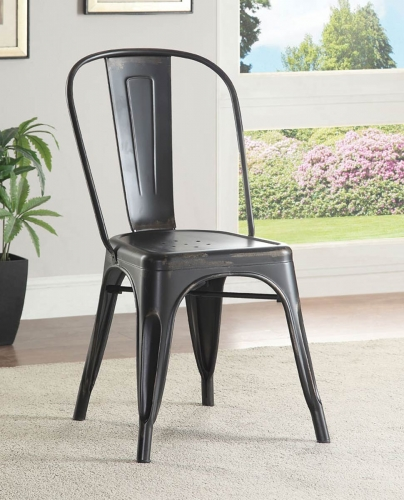 Oswego Side Chair - Black
