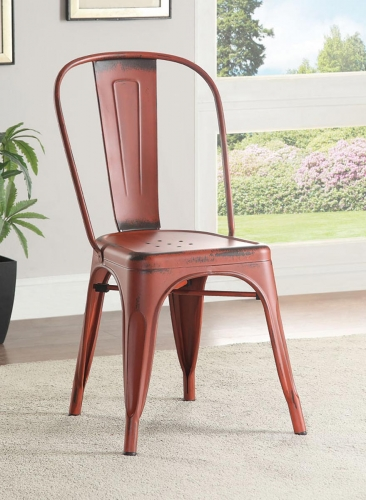 Oswego Side Chair - Red
