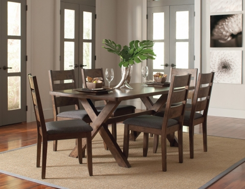 Alston Dining Set - Knotty Nutmeg