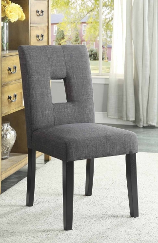 Andenne Dining Chair - Grey/Black