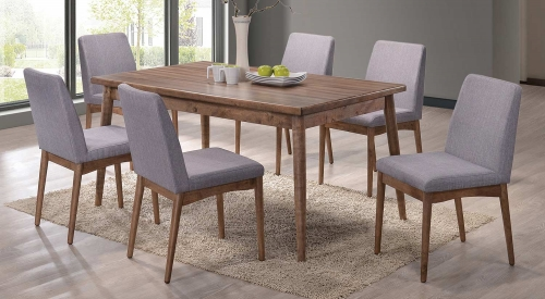 Pasquil Dining Set - Latte