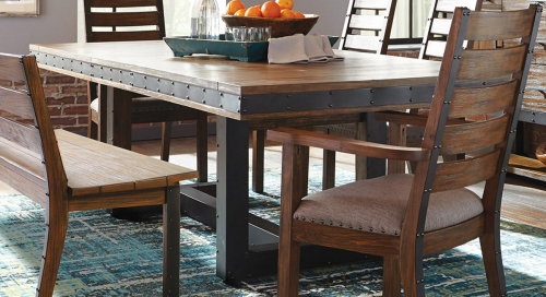 Atwater Dining Table - Vintage Bourbon