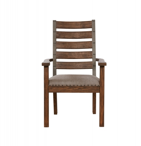 Coaster Atwater Arm Chair - Vintage Bourbon