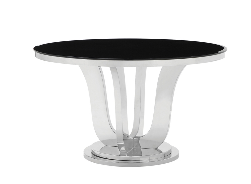 Blasio Dining Table - Chrome