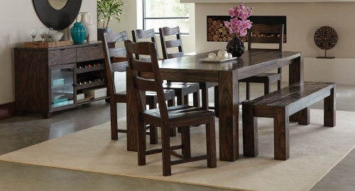 Calabasas Dining Collection - Dark Brown