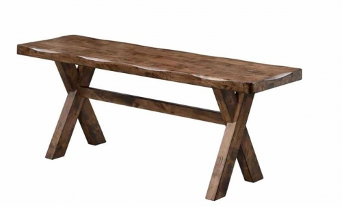 Alston Bench - Knotty Nutmeg